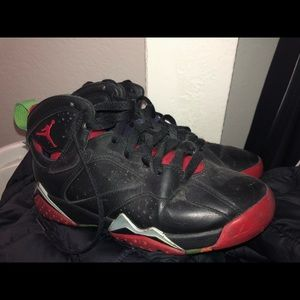 "Air Jordan 7s ""Martin the Martian"" Size 5 in Youth"